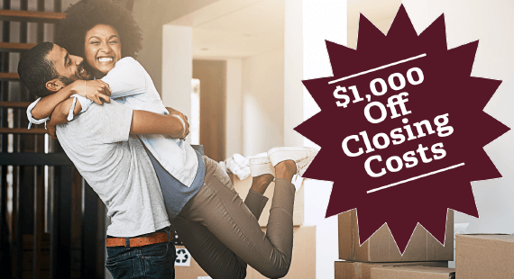 Dream Home $1,000 Off Closing Costs